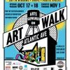 Arts Gowanus ArtWalk on Atlantic Ave. opening weekend is Oct. 17 + Oct. 18!
